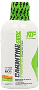 Muscle Pharm Carnitine Core Liquid Diet Supplement, Citrus, 30 Servings 16 oz 473ml