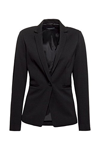 ESPRIT Collection Damen Anzugjacke Schwarz (Black 001)