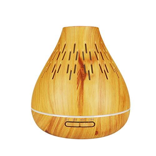 HCFKJ Luft Aroma Luftbefeuchter USB LED Ultraschall Aroma Luftbefeuchter Ätherisches Öl Diffusor Aromatherapie Luftreiniger (Approx. 167x180mm, MUL)