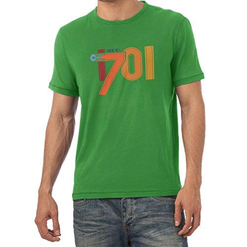 NERDO - NCC-1701 - Herren T-Shirt Grün