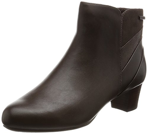 Rockport Total Motion Cherith, Stivaletti Donna Marrone (Brown (Ebano Leather))