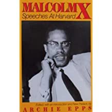 Malcolm X: Speeches at Harvard