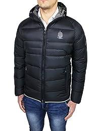 Piumino uomo Marina Yatching Original nero giaccone giubbotto casual vera  piuma d oca 39fc8bd1e31