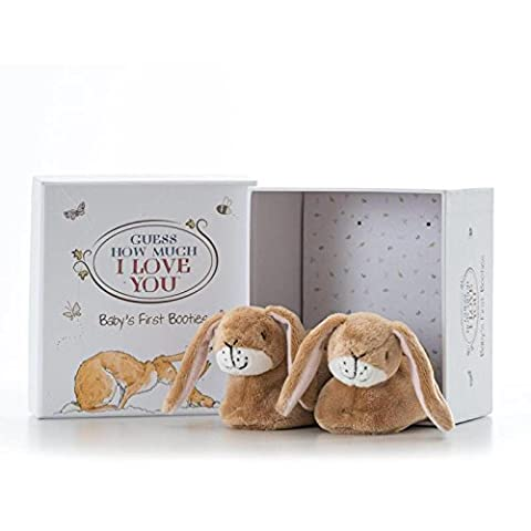 Guess How Much I Love You Booties Set, By Rainbow Designs