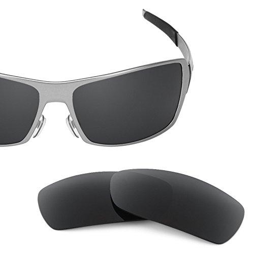 Verres de rechange pour Oakley Spike — Plusieurs options Noir - Polarisés