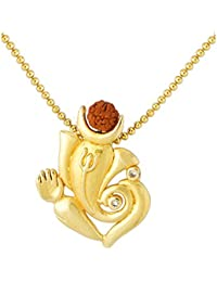 Voylla Gold Plated Pendant for Men (8907275978411)