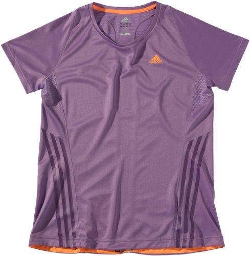 Adidas t-shirt à manches courtes pour femme supernova x17913 Violet - super purple s12/ultra bright s12