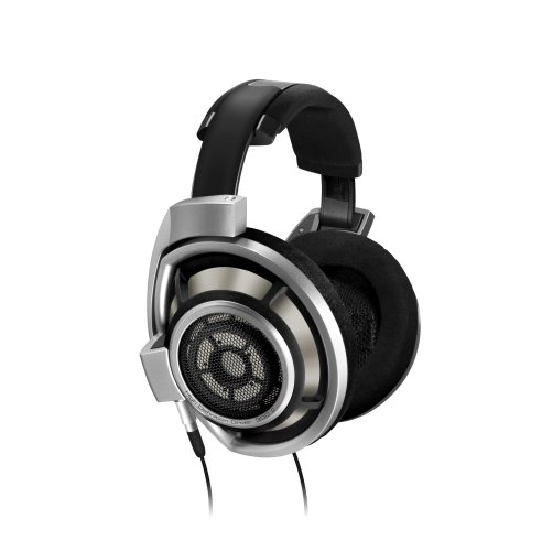 Sennheiser HD800 Over-Ear Circum Aural DynaMic Premiere Headphone with Mic and Water Resistance (Black)