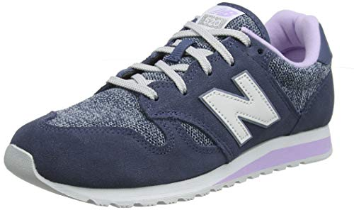 New Balance Damen 520 Sneaker, Türkis (Vintage Indigo/Violet Glo TLD), 40.5 EU
