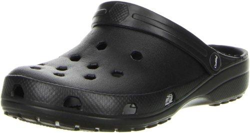 ConWay Damen Herren Clogs Pantoletten schwarz, Größe:42;Farbe:Schwarz