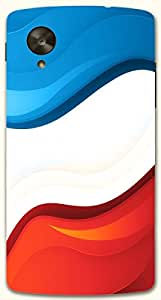 Significant multicolor printed protective REBEL mobile back cover for LG Nexus 5 / Google Nexus 5 D.No.N-R-4176-NX5