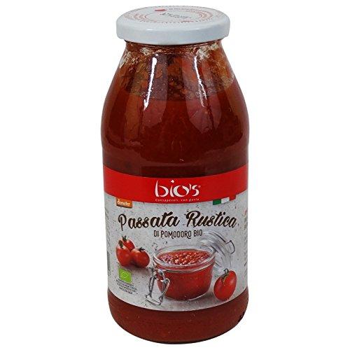 BIO'S - Sauce Tomate Rustique Biologique Italien - DEMETER certifié biodynamique - 510gr