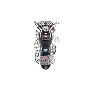 Remington Men's R9 Ultimate Series Rotary Electric Shaver, Includes Beard Trimmer, Charge Stand and Travel Lock - XR1570