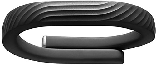 Jawbone UP24 - rastreadores de actividad (Li-Ion polymer, Negro, USB, Apple iPhone 3GS Apple iPod Touch 4th Gen Apple iPad 2 Apple iPad Mini)