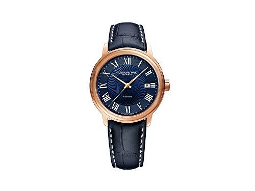 Reloj Automático Raymond Weil Maestro, PVD Oro Rosa, 40 mm, Día, 2237-PC5-00508