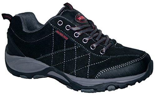 scarpe foam e Keller memory foderate lacci ideali da chiusura e donna camminare impermeabili Black con comode per suola Scarpe modello da con leggere in camminata 7wgxqWnTCf