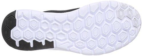 Nike Flex Experience 4 (GS) Unisex-Kinder Laufschuhe Schwarz (Black/Metallic Dark Grey Anthracite WhiteBlack/Metallic Dark Grey Anthracite White)