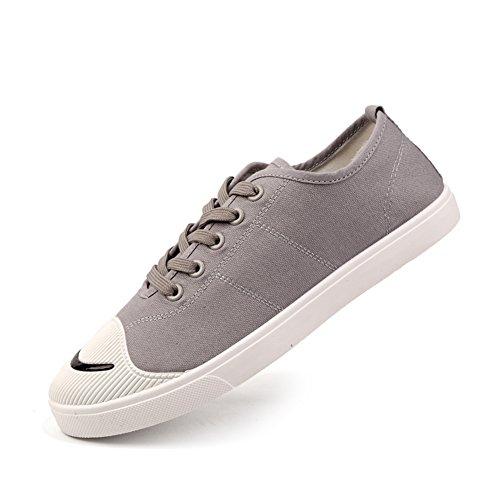 super popular fbc72 84936 ... Huan Toile Chaussures Hommes Chaussures De Toile Chaussures De Sport  Formateurs Chaussures De Gymnastique En Plein ...