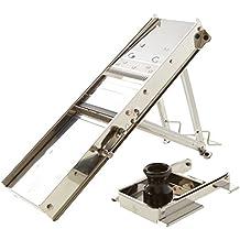 Bron Coucke 20638CHB - acciaio inox MANDOLINE e protezione di