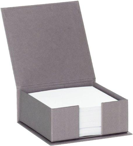 Rössler Papier 1312452490 - S.O.H.O. Zettelkasten, 11 x 11 cm, taupe