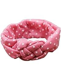 Interent Mode point Cross enfants Weave Twist bandeau bébé accessoires pour cheveux