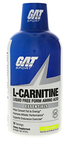 GAT SPORT Essentials Liquid L-Carnitine Drink - 473 ml (Green Apple)
