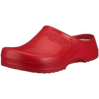 Birkenstock Super-Birki Unisex-Erwachsene Clogs, Rot (Red), 38 EU