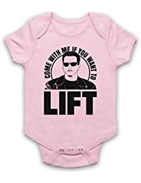 Arnold Schwarzenegger Come With Me If You Want To Lift Bebé Body