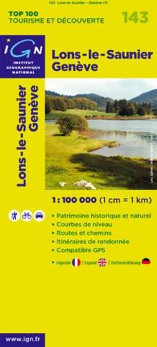 Lons-le-Saunier/Geneve: IGN.V143