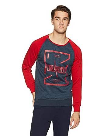 Qube By Fort Collins Men's Sweatshirt (929243 SMU_Indigo_XXL)