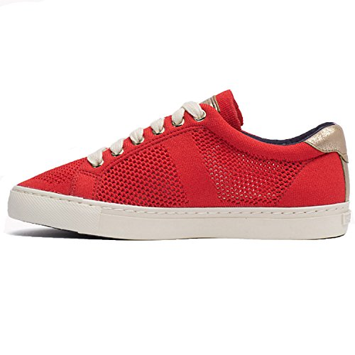Tommy Hilfiger V1285ALI 2C Damen Pumps Rot/Gold