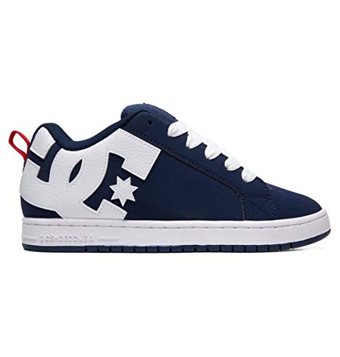 DC Shoes Court Graffik M Shoe NA5 Skate Uomini Marine - 43 - Scarpe da Skate 8d307adb8bc