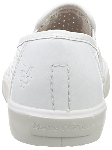 Marc O'Polo Damen Sneaker Sneakers Weiß (White 100)