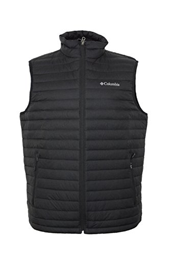 Columbia Men's Oaks Apex Omni-Heat Down Vest-Black-Small -