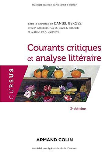 Courants critiques et analyse littraire - 3e d.