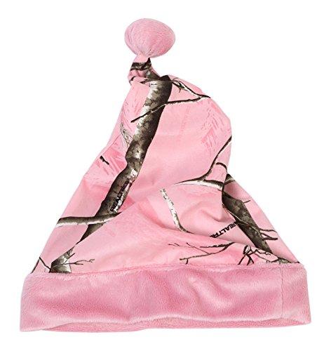 Carstens Realtree Pink AP Camo Santa Hat -
