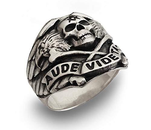 Neu Freimaurer Ring Sterling Silber 925 Herren Schmuck Juwelen Silverzone77