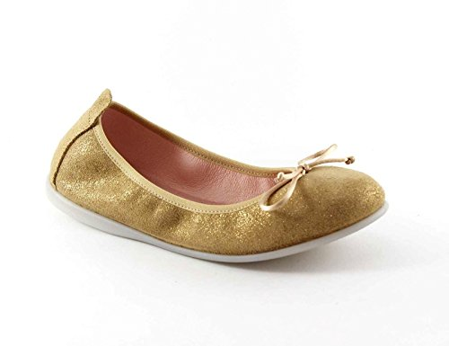 GIOSEPPO Markova 39616 or chaussures de ballet chaussures fille Doré