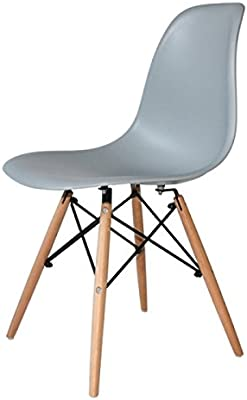 Silla tower wood gris