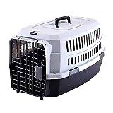 Pet Transport Box - für den Transport von lebenden Tieren, Atmungsaktiv, tragbar, Reiseträger für Hund/Katze / Welpen, 5 Größe Optional