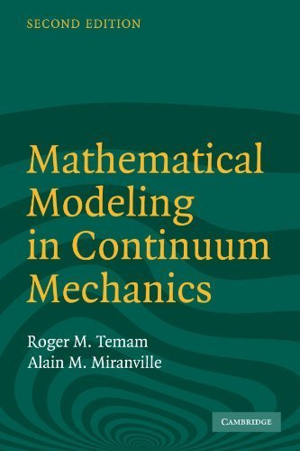 Portada del libro Mathematical Modeling in Continuum Mechanics 2nd edition by Temam, Roger, Miranville, Alain (2005) Paperback