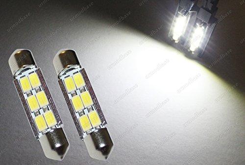 2x 39mm 6x 5630SMD LED Xenon bianco