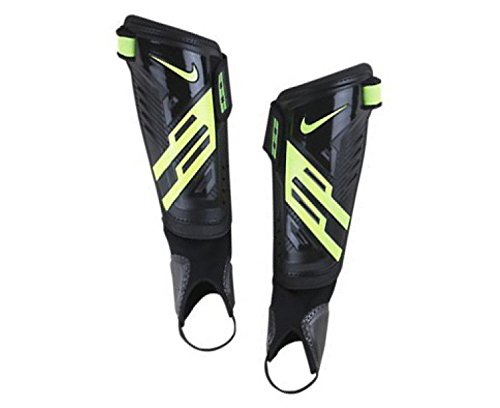 Nike Erwachsene Schienbeinschoner Protegga Shield, Black/Volt, L, SP0255