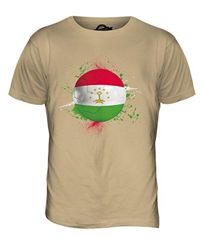 CandyMix Tadschikistan Fußball Herren T Shirt Sand