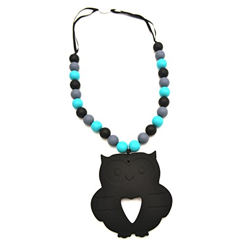 Preisvergleich Produktbild Teething Necklace Made of Silicone for Baby Chewing,BPA Free and FDA Approved