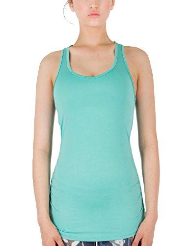 icyZone® Femme Débardeur Running Sans Manche Sport T Shirt Tank Top Florida Keys