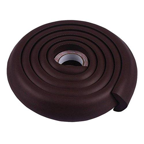 Lifestyle-You™ Child Safety Strip Furniture Corner Guard For Child Proofing (Dark Brown)