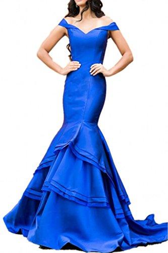 Promgirl House - Robe - Crayon - Femme Bleu royal