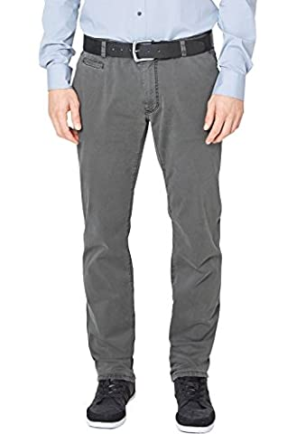 s.Oliver BLACK LABEL Herren Straight Leg Jeanshose 02.899.71.2332, Gr. W33/L32 (Herstellergröße: 33), Grau (Grau (S Oliver Anzug Premium)
