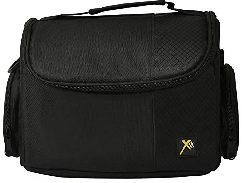 Deluxe Soft Medium Camera Case For Canon Digital EOS Rebel SL1, T1i, T2i, T3, T3i, T4i, T5, T5i, T6i, T6s, EOS 60D, EOS 70D, 50D, 40D, 30D, EOS 5D, EOS 5Ds, EOS 5D Mark III, EOS 6D, EOS 7D, EOS 7D Mark II, EOS-M Digital SLR Cameras  available at amazon for Rs.1728